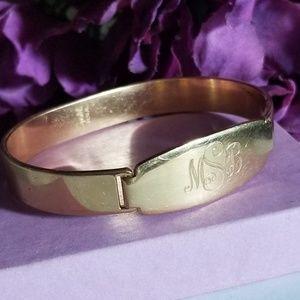 Pretty Engraved VTG Bracelet
